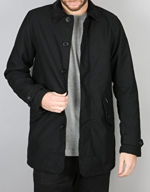 Carhartt Harris Trenchcoat Jacket - Black