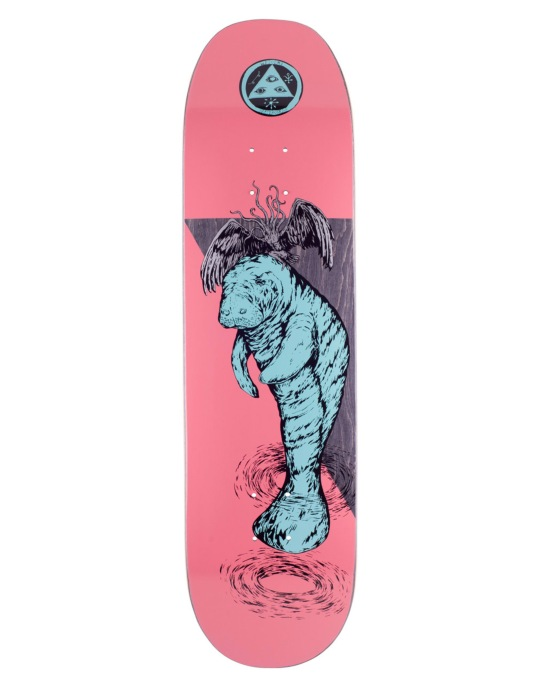 Welcome Mermaid on Moontrimmer 2.0 Team Deck - 8.5""