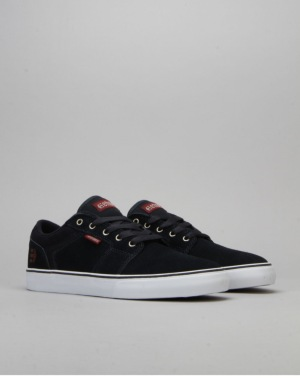 Etnies Barge LS Skate Shoes - Dark Navy