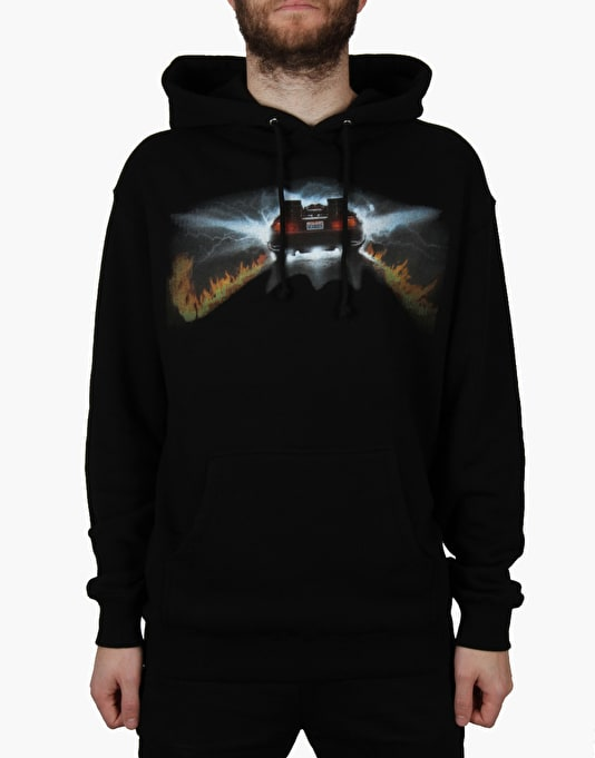 The Hundreds x Back to the Future 88 Pullover Hoodie - Black