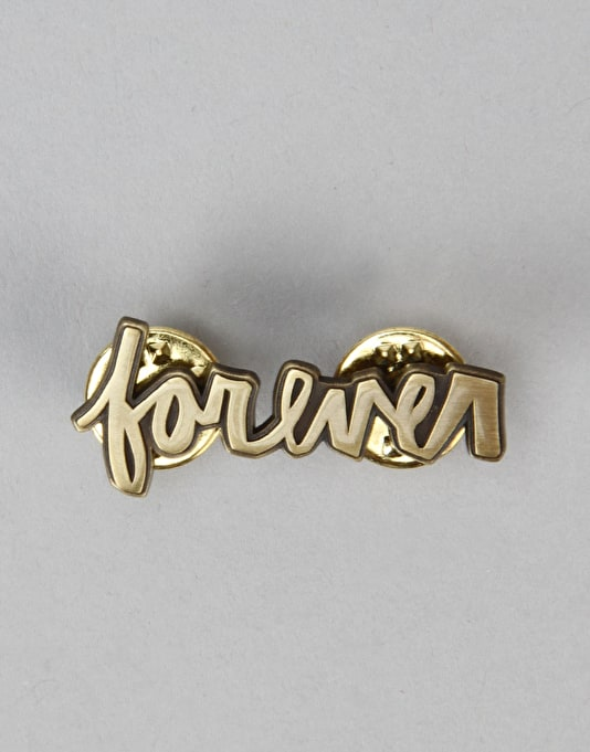 HUF x Chocolate Keenan Forever Pin - Anti Brass