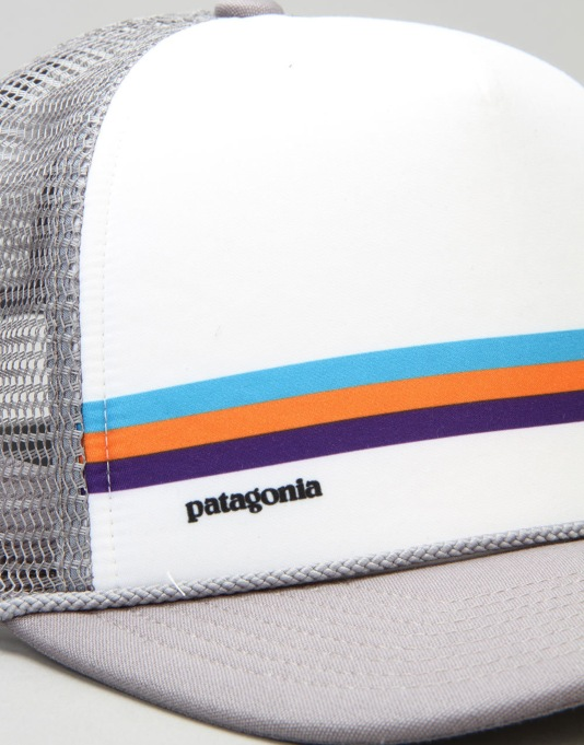 Patagonia Fitz Roy Bar Interstate Mesh Cap - Feather Grey