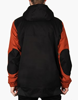 Analog Greed 2016 Snowboard Jacket - Black/Camino