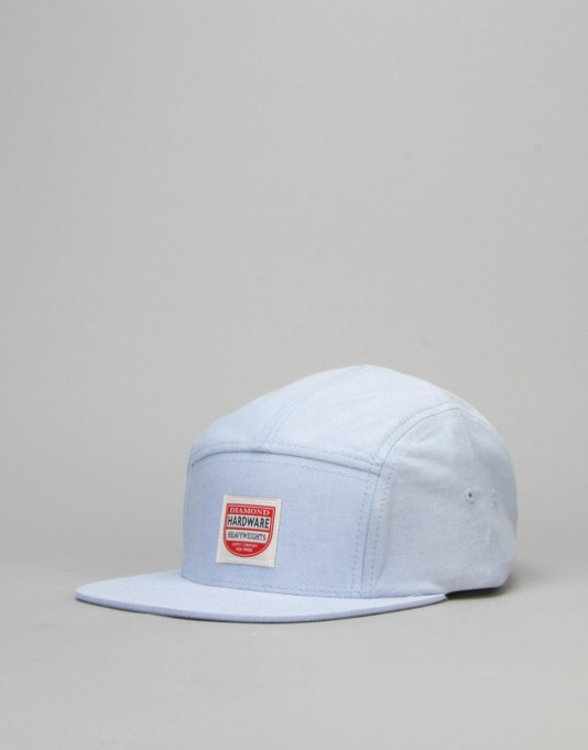 Diamond Supply Co. Port 5 Panel Cap - Light Blue