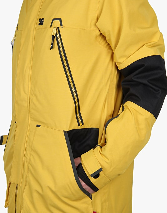 DC Command 2016 Snowboard Jacket - Nugget Gold