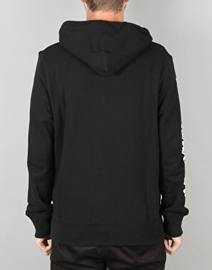 HUF x Chocolate Worldwide Pullover Hoodie - Black
