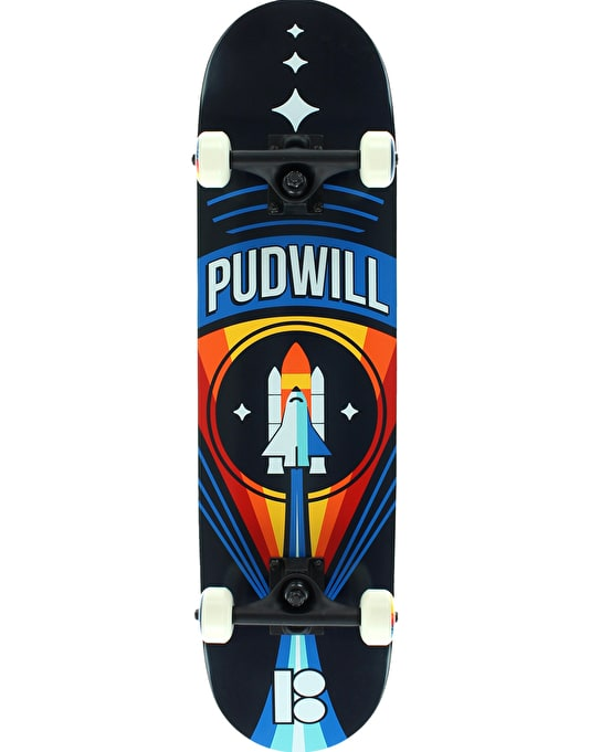 Plan B Pudwill Launch Mini Complete Skateboard - 7.625""