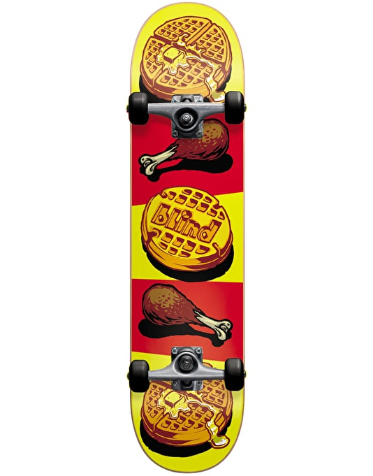 Blind Chicken & Waffles Complete Skateboard - 7.625""