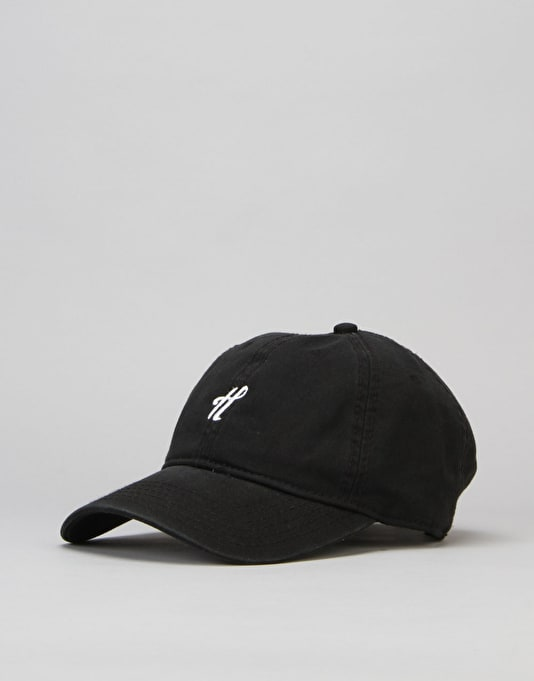 The Hundreds Signature Strapback Cap - Black