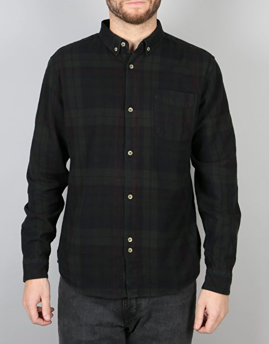 Bellfield Heathcliff L/S Shirt - Black