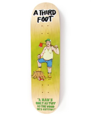 A Third Foot Axe Man Team Deck - 8