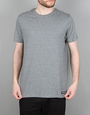 Element Basic Crew S/S T-Shirt - Grey Heather