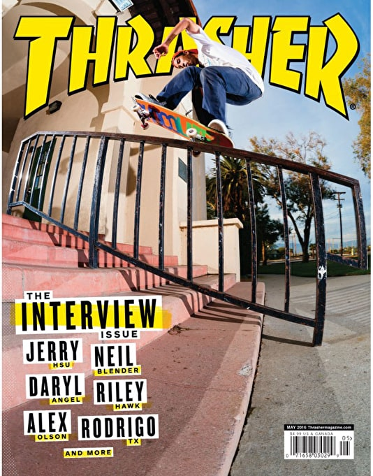 Thrasher Magazine Issue 430 May 2016