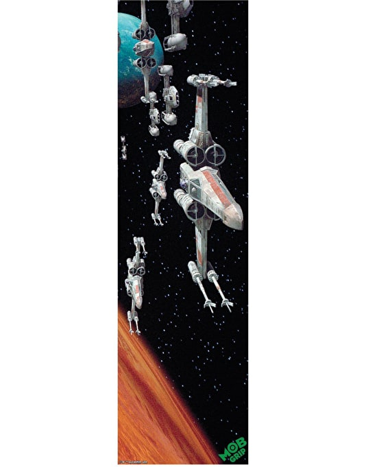 "MOB x Star Wars 9"" Graphic Grip Tape - Rebel Fleet"