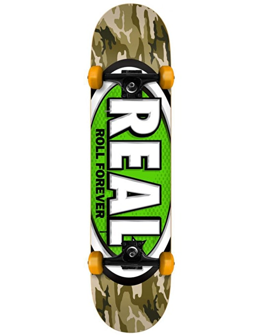 """Real AWOL Oval Complete Skateboard - 7.5"""""""