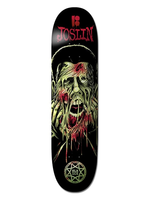 Plan B Joslin Face Melter BLK ICE Pro Deck - 8""