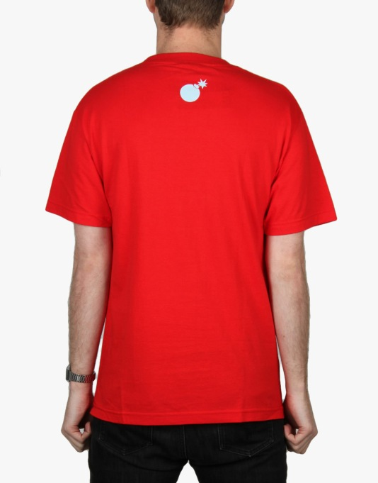 The Hundreds Ruins T-Shirt - Red