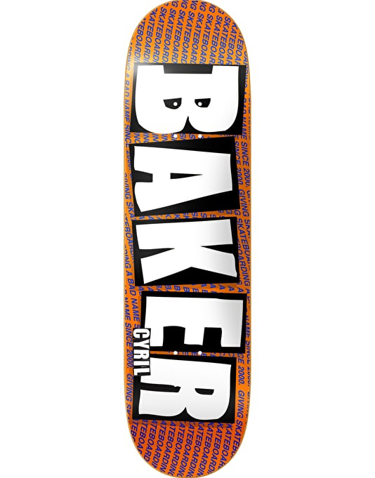 Baker Cyril Brand Name Pro Deck - 8""
