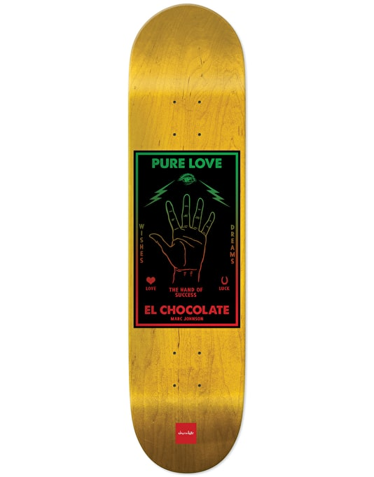 Chocolate Johnson Black Magic Pro Deck - 8.125""
