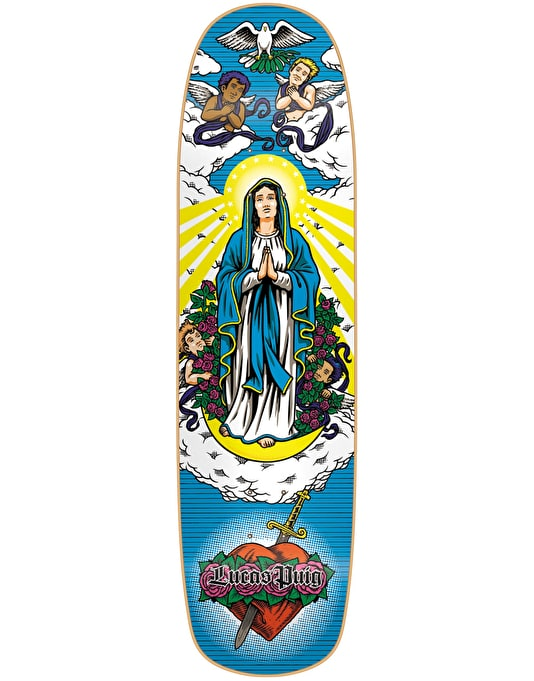 Cliché Puig Virgn Mary Directional Pro Deck - 8.5""