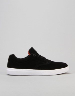 Globe The Eagle (David Gonzalez) Skate Shoes - Black/Orange/White