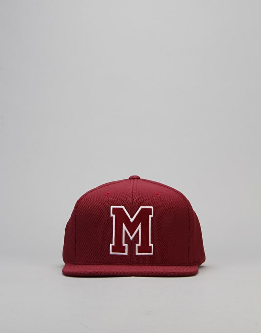Mitchell & Ness NHL Montreal Maroons SS Snapback Cap - Burgundy