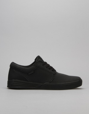 Supra Hammer Skate Shoes - Black/Black