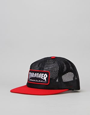 Thrasher Mesh Logo Cap - Blue/Red