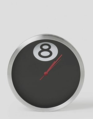 Stüssy 8 Ball Clock - Black