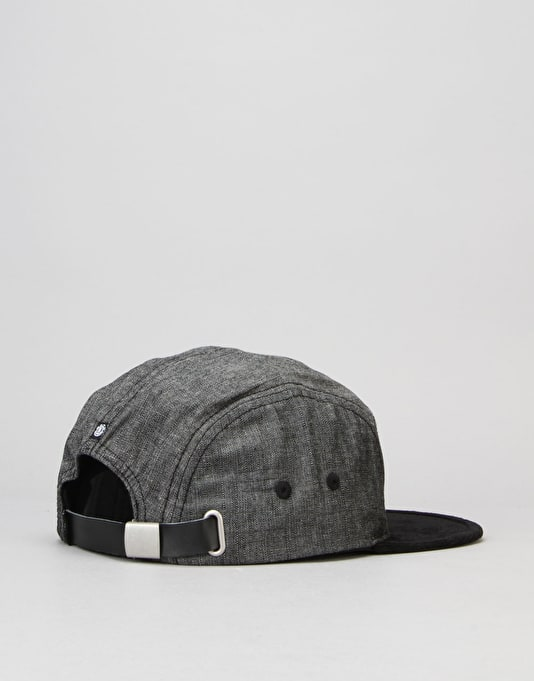 Element Elder 5 Panel Caps - All Black