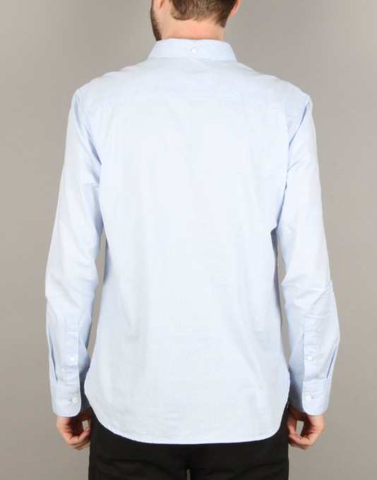 DC Oxford L/S Shirt - Light Blue