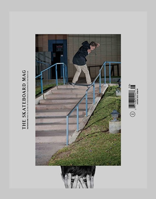 The Skateboard Mag Issue 137 August 2015