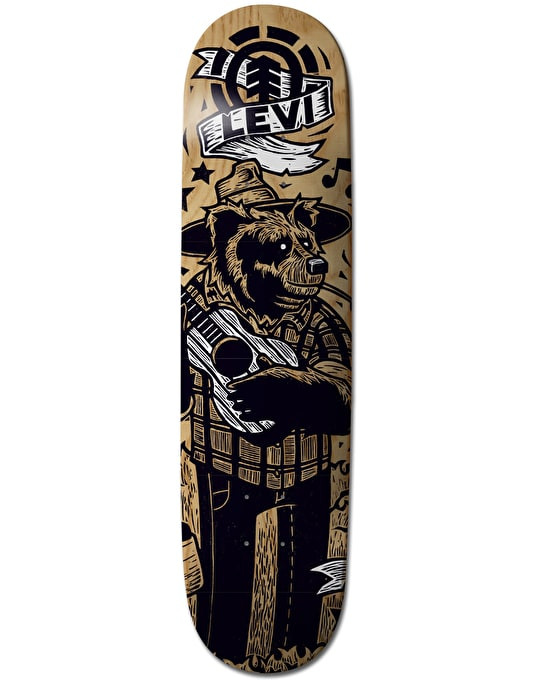 Element x J-Fellows Levi Animal Band Featherlight Pro Deck - 8""