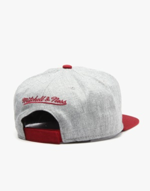 Mitchell & Ness NHL Montreal Maroons Team Pop Snapback Cap - Grey