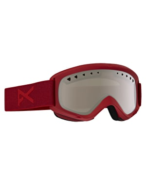 Anon Helix 2016 Snowboard Goggles - Blaze/Silver Amber