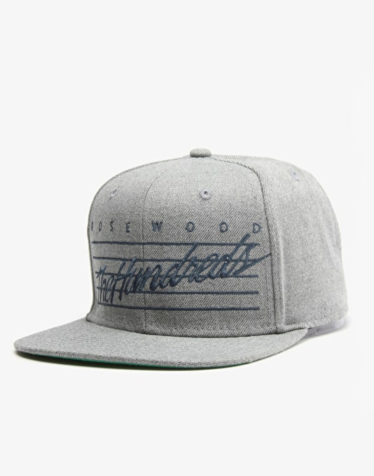 The Hundreds Daze Snapback Cap - Athletic Heather