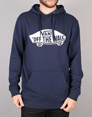 Vans OTW Pullover Fleece Hoodie - Dress Blue/Bright White
