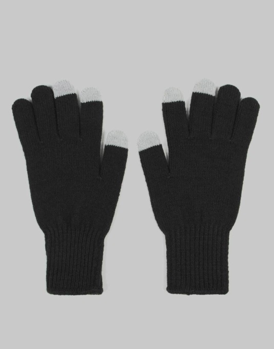 HUF Military Gloves - Black