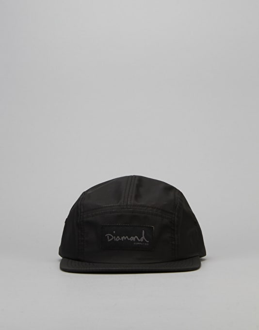 Diamond Supply Co. Porto 5 Panel Cap - Black