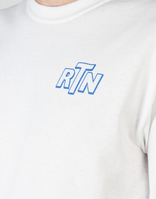 Route One Fuel LS T-Shirt - White