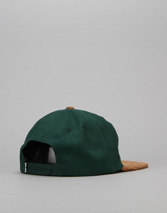 Quasi Believe 6 Panel Cap - Spruce