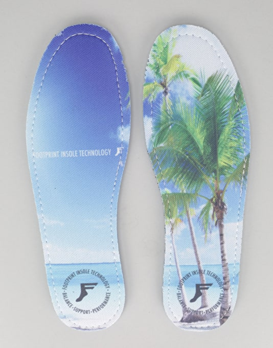 Footprint Beach 7mm Kingfoam Insoles