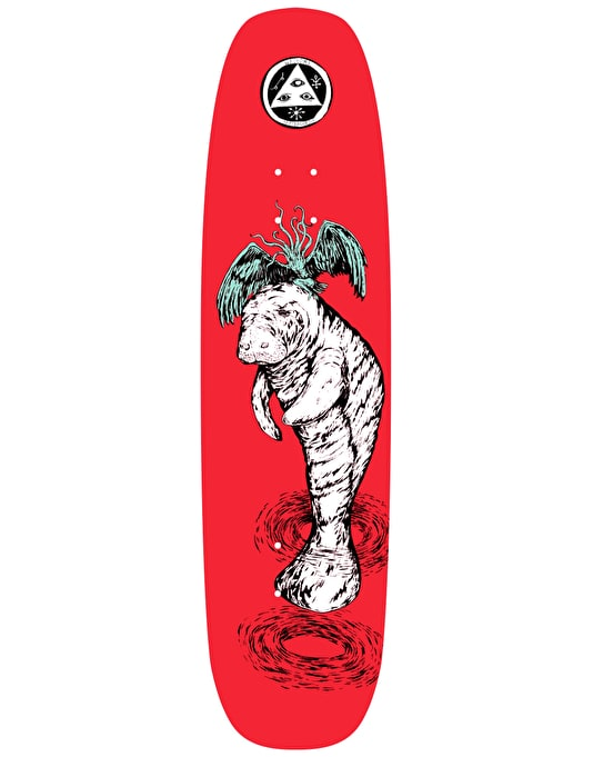 Welcome Mermaid on Wormtail Team Deck - 8.4""