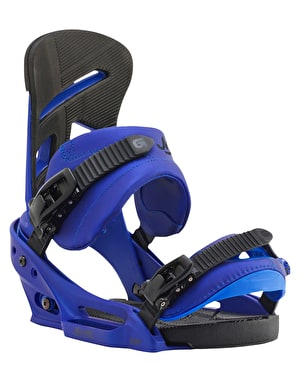 Burton Mission EST 2016 Snowboard Bindings - Deep Blue
