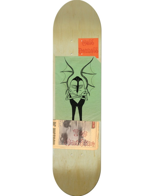 Toy Machine Bennett Scraps Pro Deck - 8""
