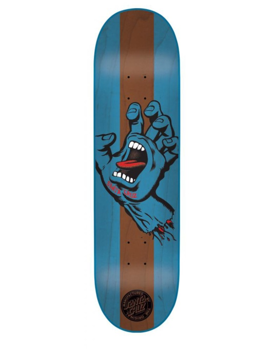 Santa Cruz Stained Hand Team Deck - 7.6""