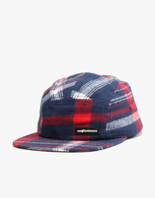 The Hundreds Mars 5 Panel Cap - Navy