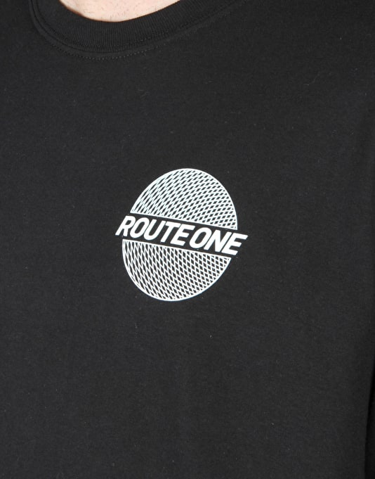 Route One Trippin' LS T-Shirt - Black