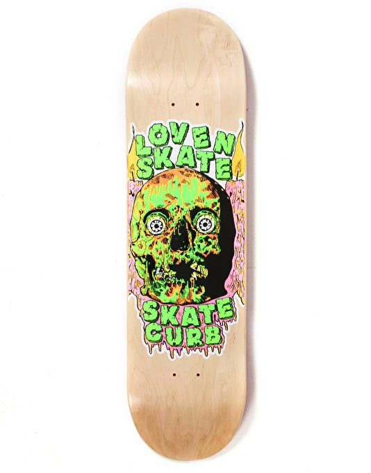 Lovenskate Skate Curb Team Deck - 8.5""