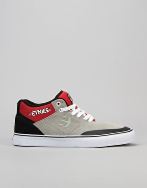 Etnies Marana Vulc MT 30th Birthday Skate Shoes - Grey/Black/Red